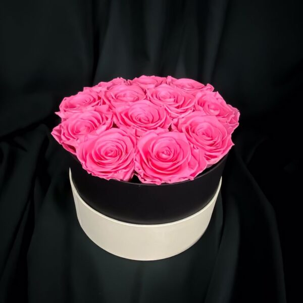 rose stabilizzate pink elegance