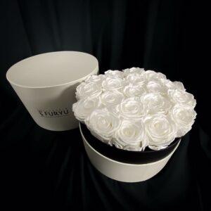 rose stabilizzate white luxury